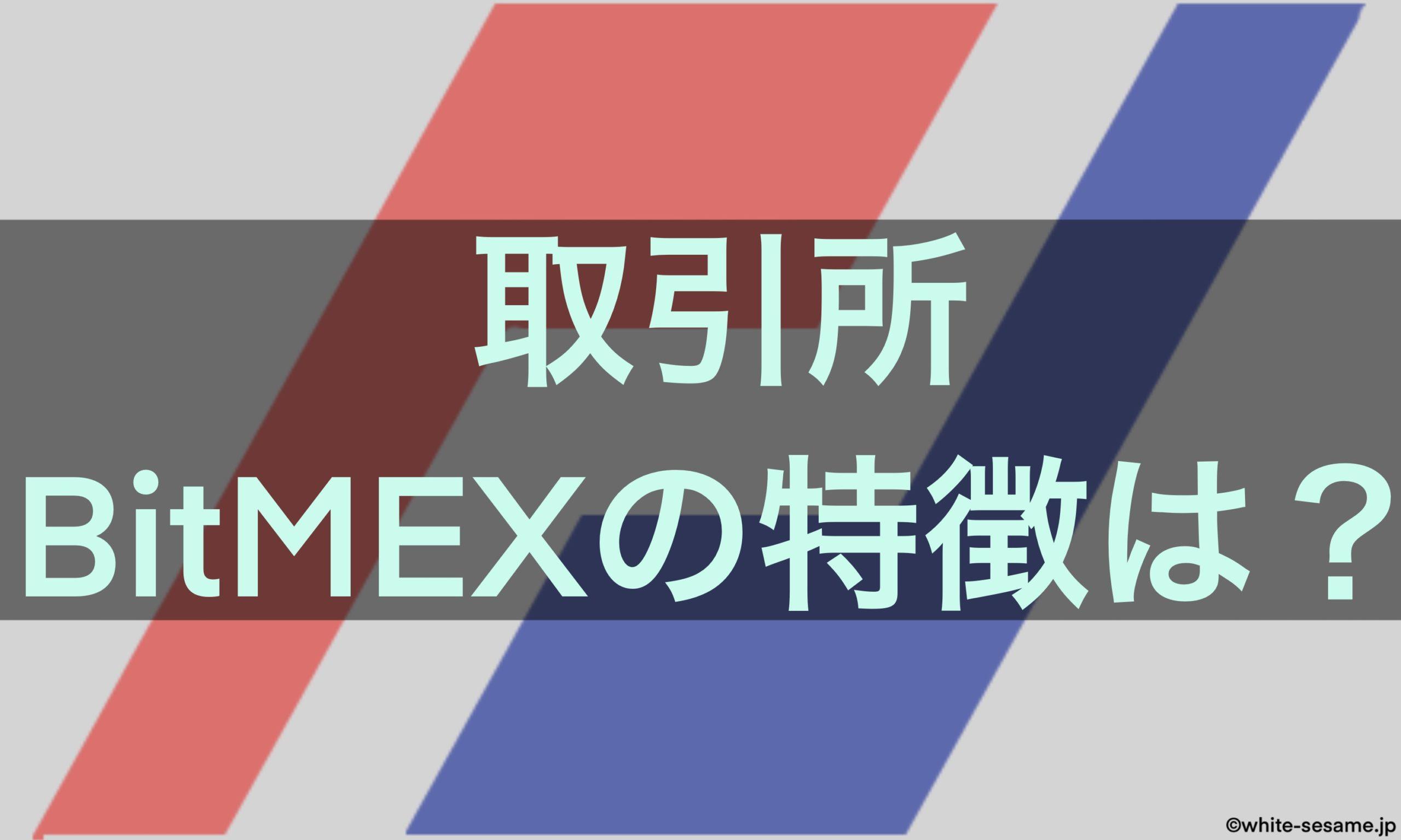 BitMEX特徴