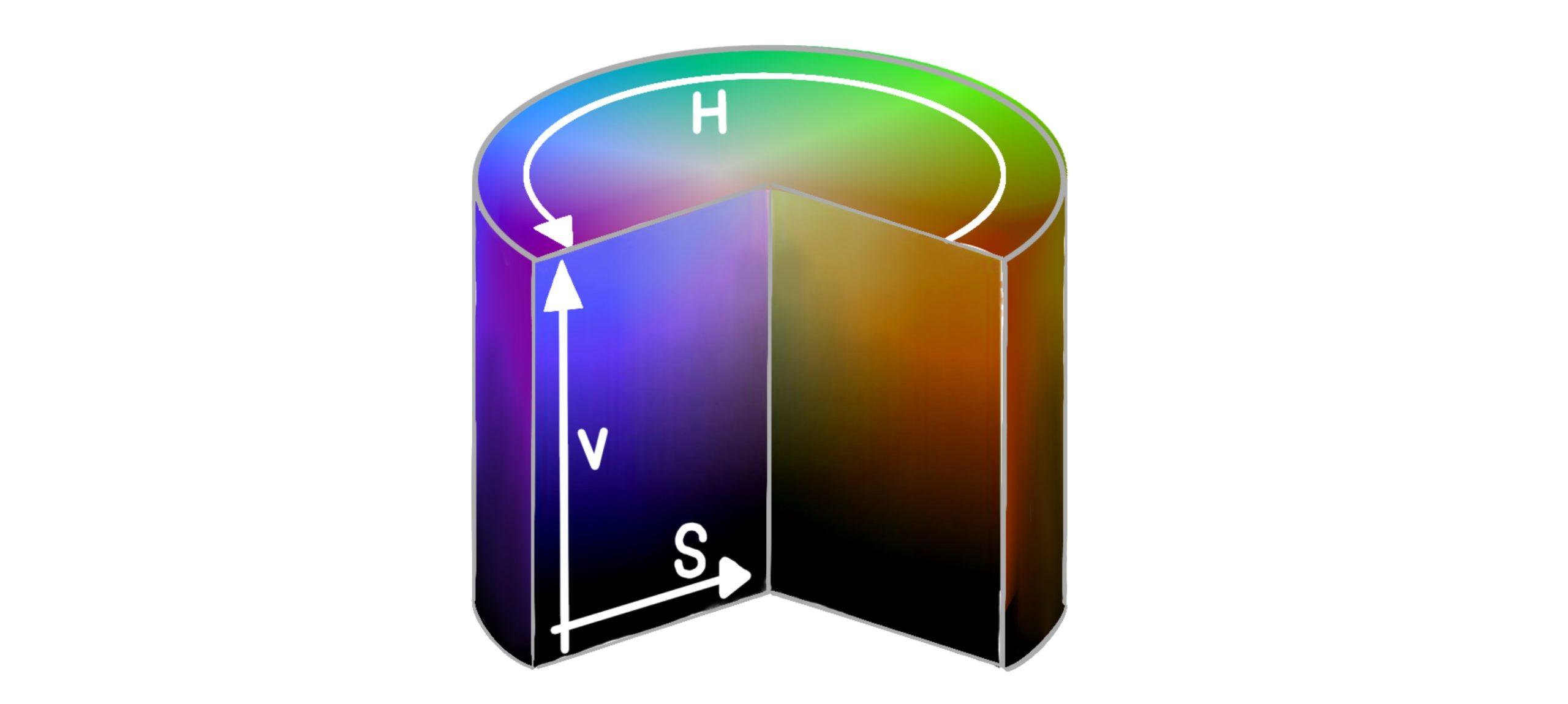 HSVの説明画像