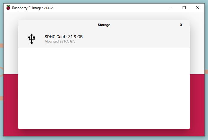 SDカード選択画像